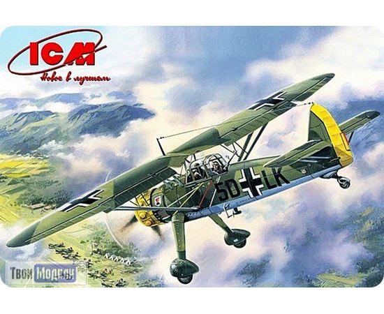 Склеиваемые модели  ICM 48211 Hs 126А германский самолет разведчик tm01905 купить в твоимодели.рф