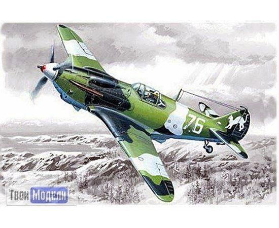 Склеиваемые модели  ICM 48091 ЛаГГ-3 серия-1 Советский истребитель tm01888 купить в твоимодели.рф