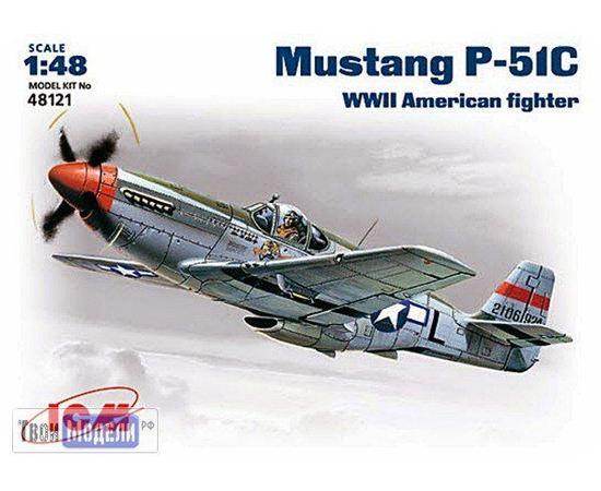 Склеиваемые модели  ICM 48121 P-51 C Самолет ВВС США tm01915 купить в твоимодели.рф