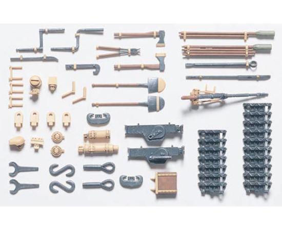 Склеиваемые модели  Tamiya 35185 Навесное оборудование и инструменты для Pz.Kpwf.IV tm02320 купить в твоимодели.рф