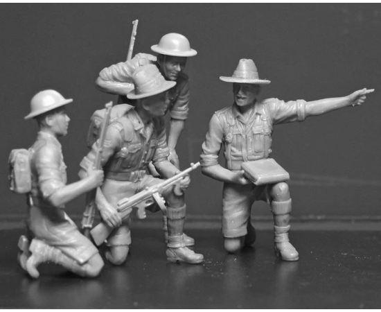 Склеиваемые модели  ICM 35563 Гуркхские (Gurkha) стрелки - 1944 год tm04936 купить в твоимодели.рф