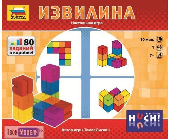 Игровые системы zvezda 8905 Звезда Настольная игра Извилина 80 заданий tm02026 купить в твоимодели.рф