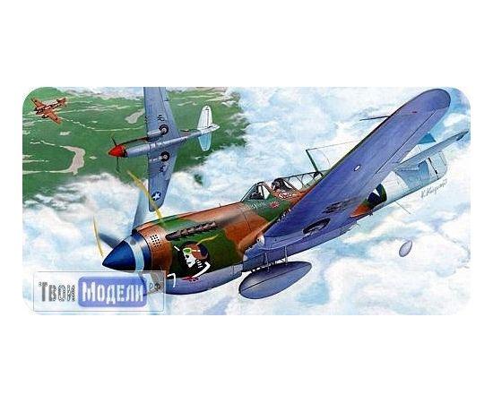 Склеиваемые модели  Hasegawa 00139 P-40N Warhawk A9  Самолет 1:72 tm01803 купить в твоимодели.рф