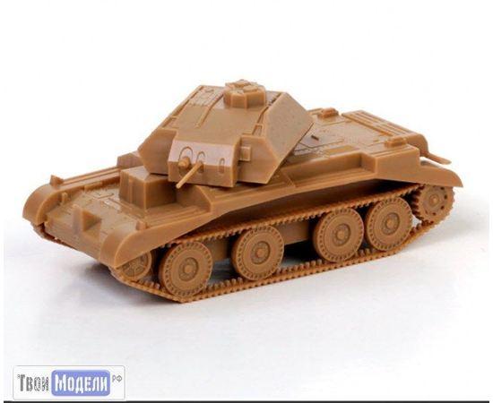 Склеиваемые модели  zvezda 6227 Звезда А13 Mk.II Британский крейсерский танк tm01867 купить в твоимодели.рф