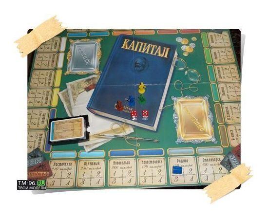 Игровые системы zvezda 8612 Звезда Капитал Настольная экономическая игра tm02008 купить в твоимодели.рф