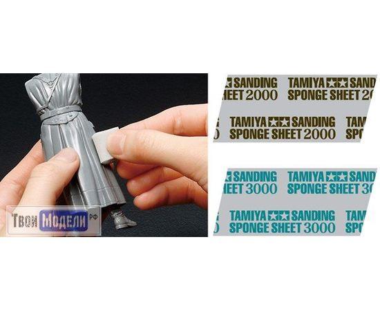 Оборудование для творчества Tamiya 87170 Шлифовальная губка зернистость 2000 tm01962 купить в твоимодели.рф