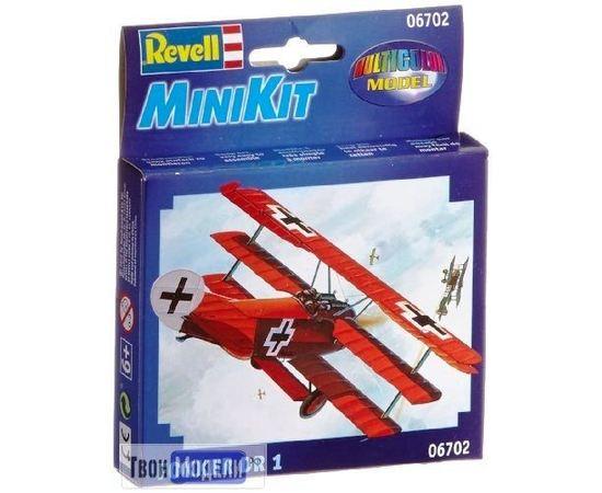 Склеиваемые модели  Revell 06702 Fokker Dr. 1 Самолет Истребитель tm01813 купить в твоимодели.рф