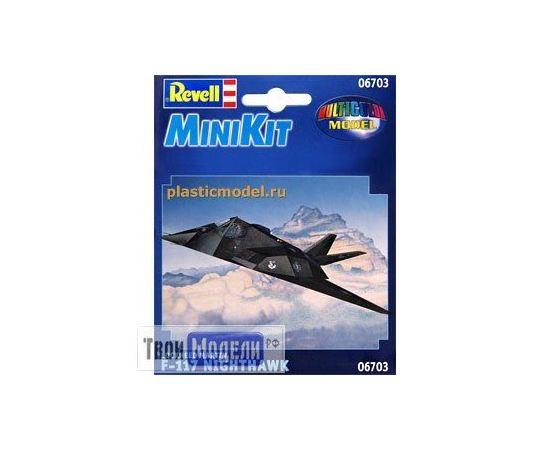 Склеиваемые модели  Revell 06703 F-117 Ударный самолёт Найтхок tm01814 купить в твоимодели.рф