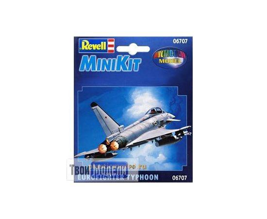 Склеиваемые модели  Revell 06707 Eurofighter Typhoon - MiniKit tm01826 купить в твоимодели.рф