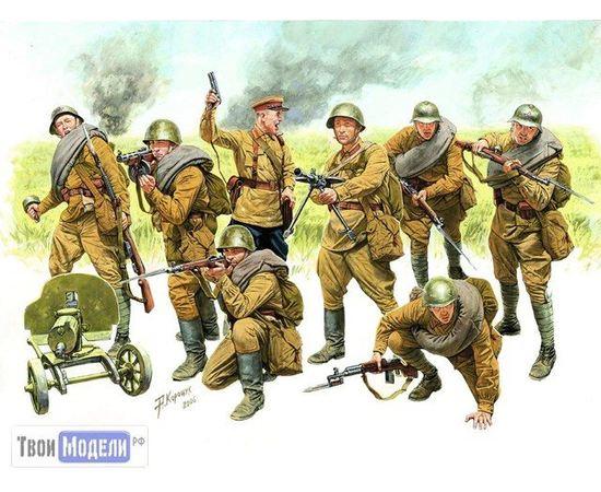 Склеиваемые модели  zvezda 3526 Звезда Пехота Красной Армии tm01713 купить в твоимодели.рф