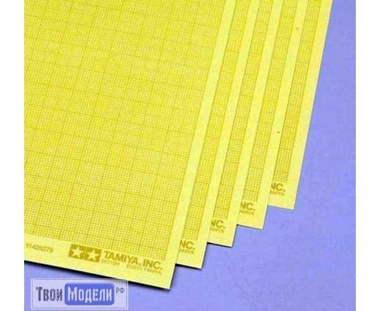 Оборудование для творчества Tamiya 87129 бумага c разметкой, 240х180 мм самокл. tm01994 купить в твоимодели.рф