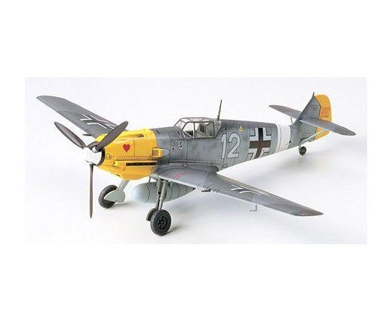 Склеиваемые модели  Tamiya 60755 Bf-109E-4/7 Trop Истребитель-бомбардировщик. tm01910 купить в твоимодели.рф