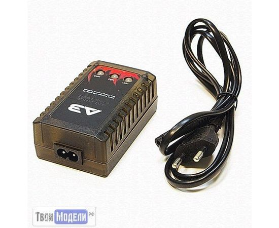 RC Гараж  Зарядное 7.4V и 11.1V  Himoto A3EU  для LiPo 2S, 3S tm02512 купить в твоимодели.рф