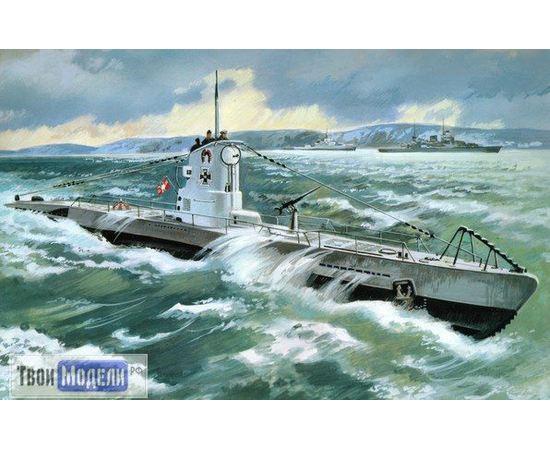 Склеиваемые модели  ICM S.009 Германская подводная лодка  2 МВ U-Boat Type II В tm02227 купить в твоимодели.рф