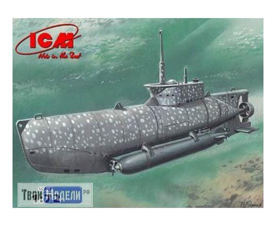 Склеиваемые модели  ICM S.006 Германская подводная лодка Seehund тип XXIIB tm02228 купить в твоимодели.рф