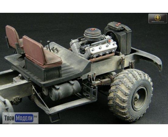 Склеиваемые модели  Miniman Factory MMF-25001 КРАЗ-255Б Тяжёлый грузовик tm02625 купить в твоимодели.рф