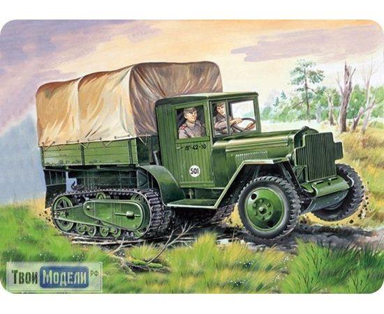 Склеиваемые модели  ЕЕ35153 ЗИС-42 Армейский вездеход 1/35 tm02571 купить в твоимодели.рф