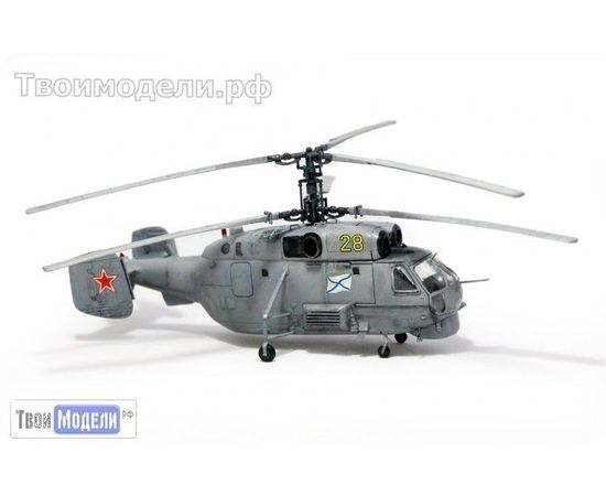 Склеиваемые модели  zvezda 7214 Звезда Ка-27 Вертолет противолодочный tm02829 купить в твоимодели.рф
