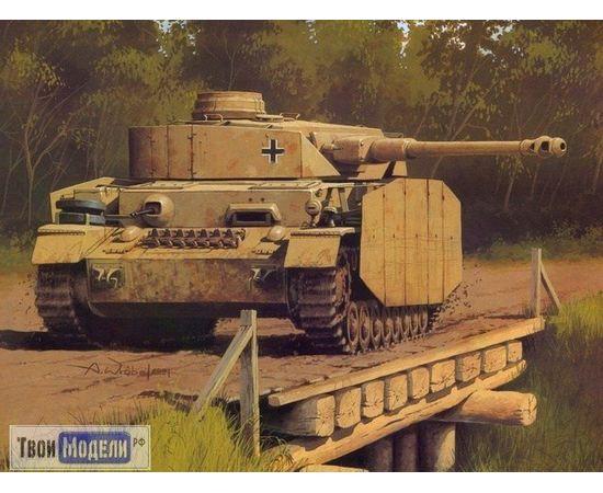 """Склеиваемые модели  Моделист 303503 """"Немецкий танк""""  T-IV H  (1:35) tm03383 купить в твоимодели.рф"""