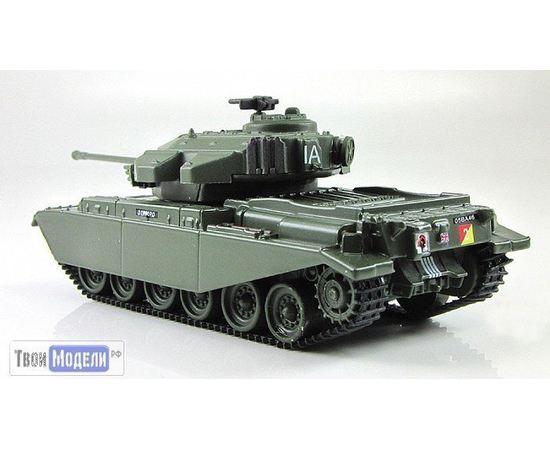 Коллекционные машинки Танки мира №17 танк Centurion Mk 5 tm03539 купить в твоимодели.рф