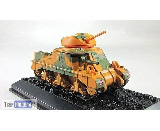 Коллекционные машинки Танки мира №02 Танк М3 Грант Mk.I tm03546 купить в твоимодели.рф