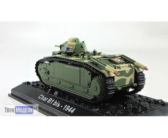 Коллекционные машинки Танки мира №04 B1bis Любимый танк генерала де Голля tm03598 купить в твоимодели.рф