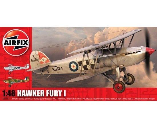 Склеиваемые модели  Airfix 04103 Самолет Hawker Fury 1/48 tm05065 купить в твоимодели.рф