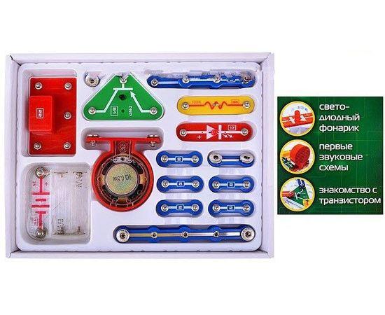 Знаток 15 схем [Первые шаги] - Электронный конструктор набор В tm04817 купить в твоимодели.рф